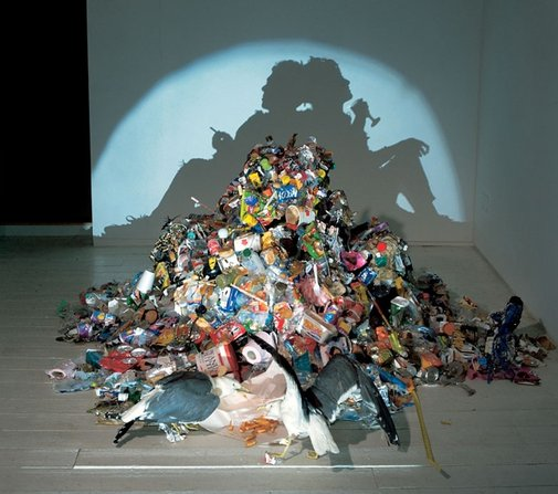 Amazing Shadow Sculptures by Tim Noble and Sue Webster | Marvelous