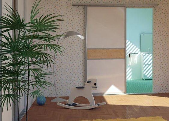 Zimmer Trennwand: Schiebetüren online planen | deineSchiebetuer.de