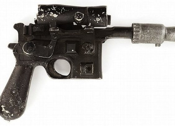 Han Solo's Blaster Up For Auction
