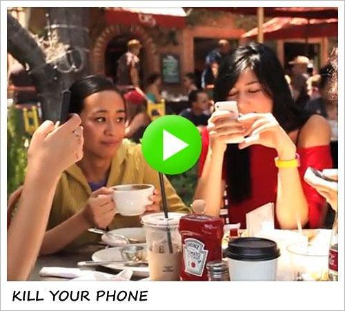 Gentlemen Keep Their Phones In Their Pocket