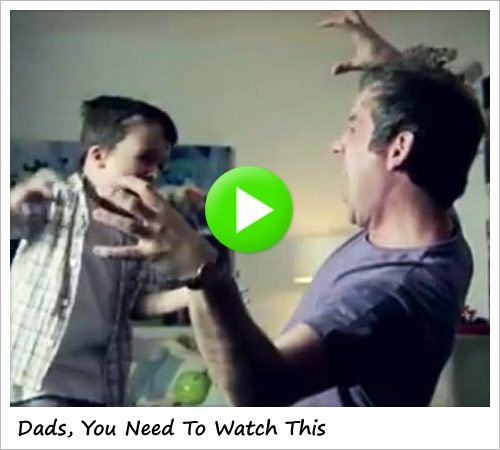 Dads, You Need To Man-Up (And Go Play With Your Kids)