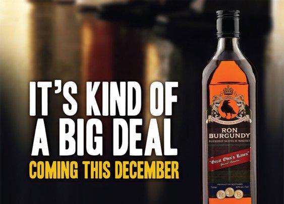 Ron Burgundy Blended Scotch Whisky: Stay Glassy(-Eyed), San Diego