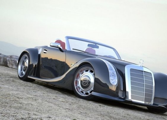 Mercedes-Benz 300SLC Concept