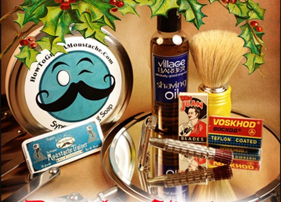 December HTGAM Giveaway 2013 | How to Grow a Moustache