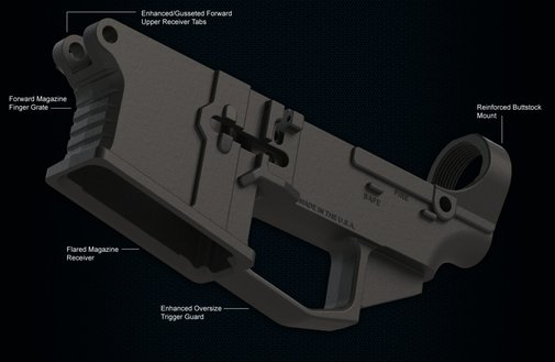 James Madison Tactical 80% Polymer AR15 Lower Receiver