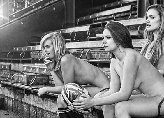 Oxford University's Women's Rugby Team Strip Naked For Charity (PICTURES)