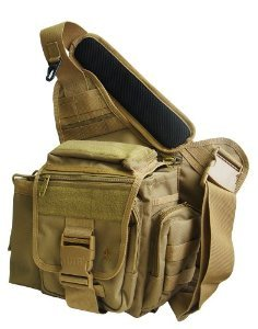Amazon.com: UTG Multi-functional Tactical Messenger Bag - Dark Earth: Sports & Outdoors