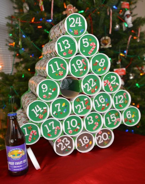 15 Beer and Wine Inspired DIY Christmas decorations
