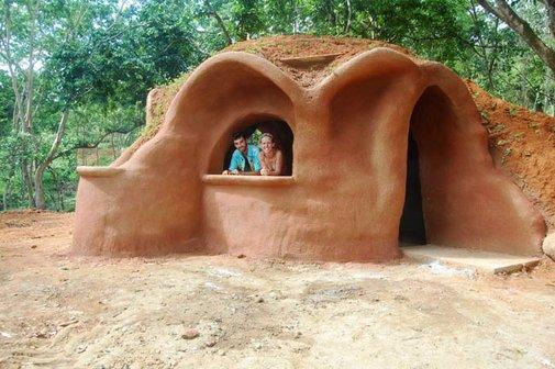 Tiny Earthbag Homes