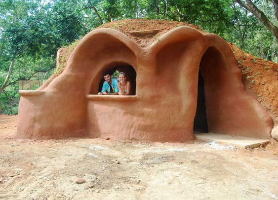 Tiny Earthbag Homes