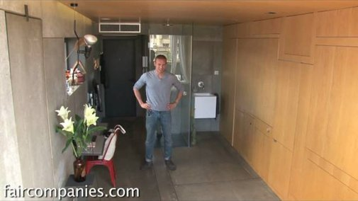 This Super Tiny Apartment Is an Amazing Transformer