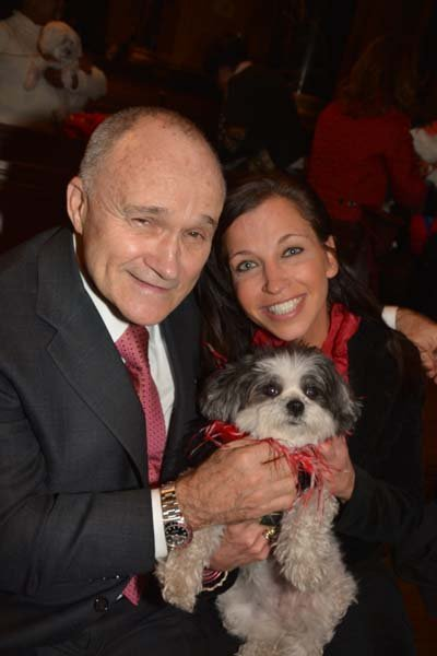 Ray Kelly, outstanding NYC Commish, at the Blessing of the Animals