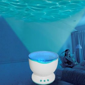 Waves projector speaker