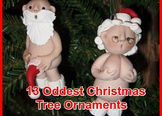 Thirteen Oddest, Funniest And Strangest Holiday Ornaments