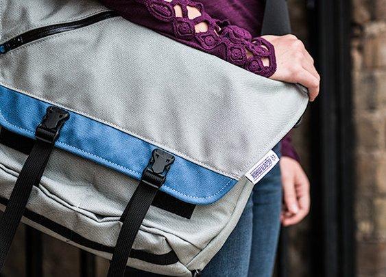 Awesome Messenger Bag From Ogden Made