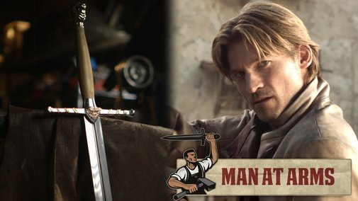 Jaime Lannister's Sword (Game of Thrones) - MAN AT ARMS - YouTube