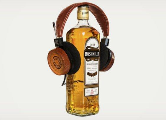 Grado Headphones made of Bushmills Barrels
