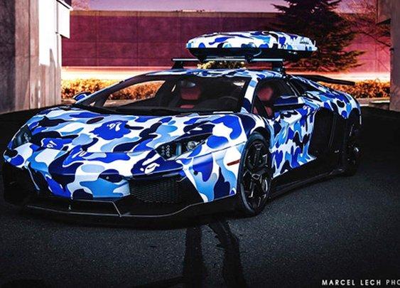 Lamborghini Aventador Arctic Blue