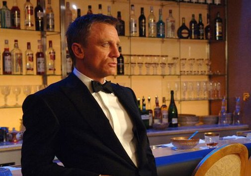 Yes, Mr. Bond, we expect you to die -- from booze