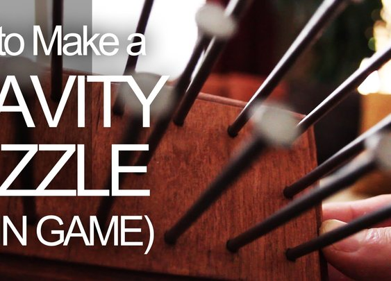 How to Make a Gravity Puzzle (Brain Game) - YouTube