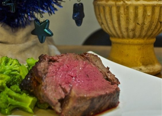 Smoked Beef Tenderloin on a Gas Grill - Perfect for the Holidays : 101 or Less