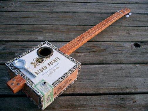 Lil' Moe Cigar Box Guitar