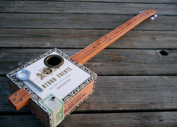 Lil' Moe Cigar Box Guitar
