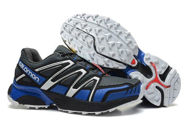 huge discount 236b9 7eb3a Salomon XT HORNET - Mountain trail-running Men Shoes cross country black  silver navyblue