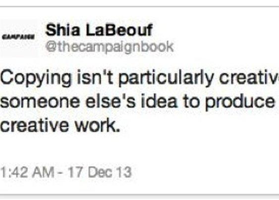 Shia LaBeouf plagiarizes apology for plagiarizing Daniel Clowes comic