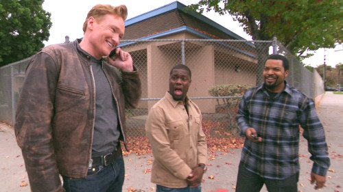 Ice Cube, Kevin Hart, and Conan Share A Lyft Car @ TeamCoco.com