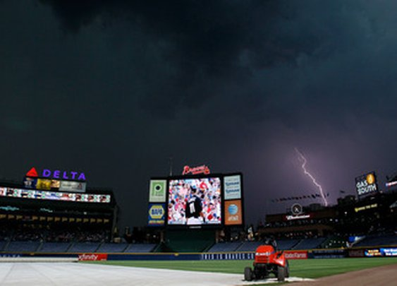 Complete Game After Being Struck By Lightning!