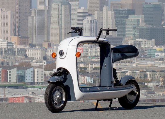 Kubo Electric Cargo Scooter: Carry On, My Weighed-Down Son