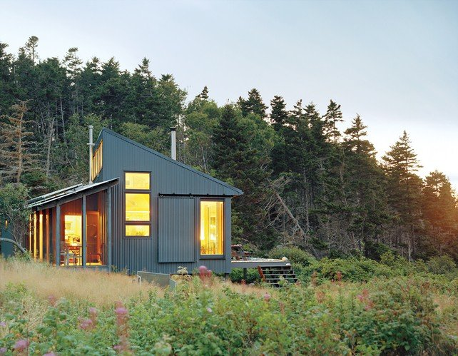 Tiny Off-Grid Cabin in Maine is Completely Self-Sustaining | Inhabitat - Sustainable Design Innovation, Eco Architecture, Green Building
