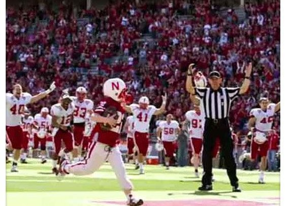 Super-Fan Scores a Touchdown and Inspires the Nation