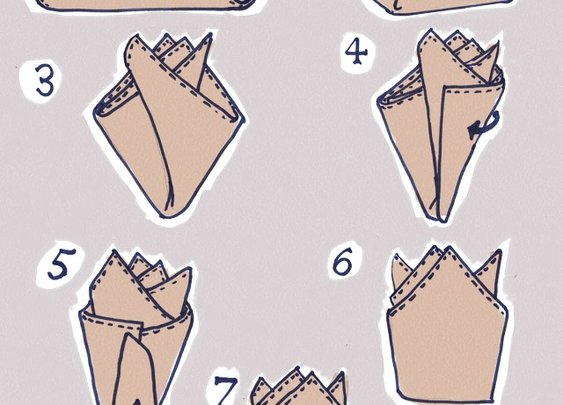 how to pick a pocket square