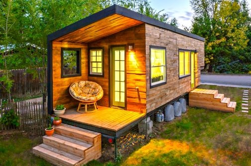 Architect Bypasses Mortgage Payments, Builds a Tiny Home - My Modern Metropolis