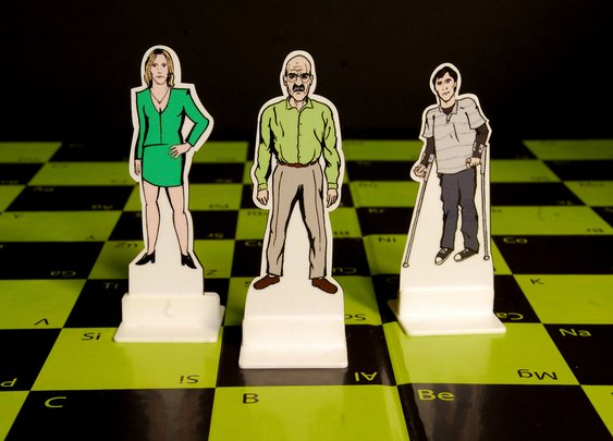 Breaking Bad Chess Set | The Coolector