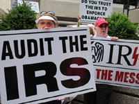 Obama IRS Tightening Noose on Tea Party Groups
