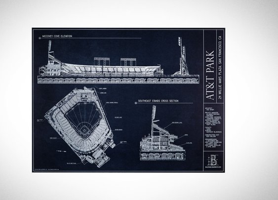 Iconic Ballpark Blueprints