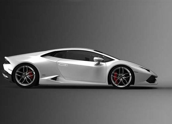 First Look: Lamborghini Huracán LP 610-4