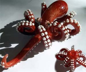 Octopus Smoking Pipe