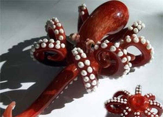 Octopus Smoking Pipe