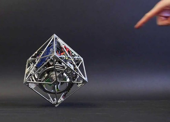 The Cubli: a cube that can jump up, balance, and 'walk' - YouTube