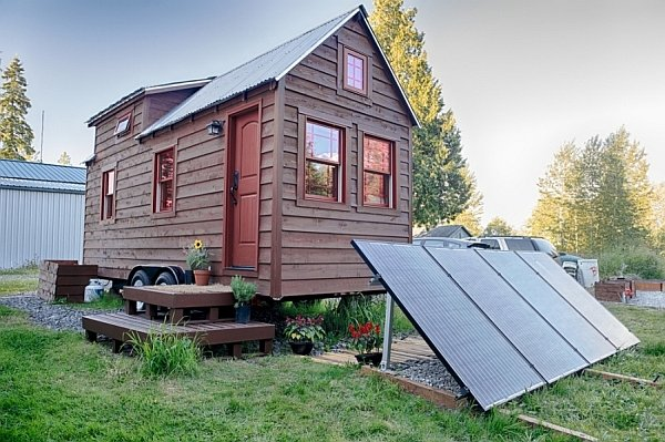 Mobile Tiny Tack House Is Entirely Built By Hand