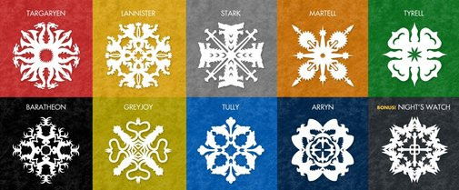 Snowflakes / Game of Thrones