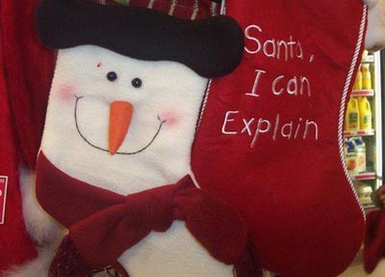 Santa I can Explain....