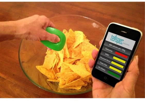 TellSpec hand-held scanner identifies what's in your food