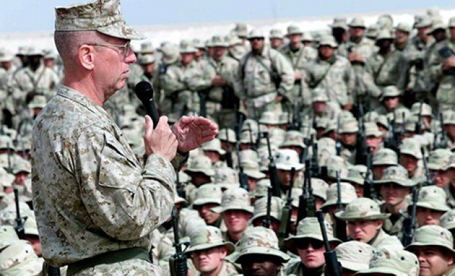 General Mattis Crosses Potomac With 100,000 Troops; President, Senate Flee City