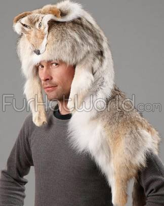 Coyote Mountain Man Hat
