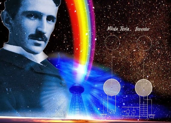 My Brain is only a receiver - Nikola Tesla